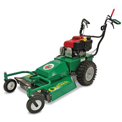 "Billy Goat BRUSH CUTTER -13 HP HONDA 26"" WIDE HYDRO DRIVE PIVOTING DECK WITH DUAL CASTER WHEELS"
